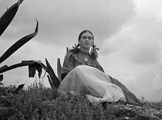 Frida Khalo's Life in Pictures 💠More Pins Like This At FOSTERGINGER @ Pinterest💠