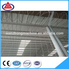 Galvanized Anti Climb 358 High Security Wire Mesh Fencing