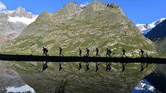 the north face ultra trail mont blanc - Google Zoeken Ultra Marathon, Trail Running, Mount Everest, Mount Rushmore, Mountains, Nature, Travel, Naturaleza, Viajes