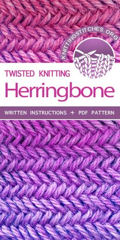 8b305f82c4986 Featured Knitting Stitches. FREE KNITTING PATTERN for knitters of all  levels