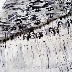 Olivia Wendel's Handpainted Scarves