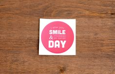 I saw you smile & it changed my entire day #sticker #quotes #typography #SpreadTheHappy #lovequote #motivation #happy