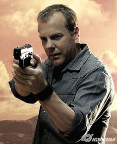 Jack Bauer, one of my fave characters ever on tv.