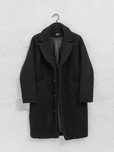 Teddy Coat black | R-Collection