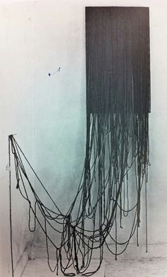 Oh, Eva Hesse. One of my favorite artists to discuss in my first job teaching in a museum. Aw, memories.