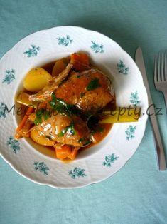 Krůtí stehna v omáčce se zeleninou Thai Red Curry, Ethnic Recipes