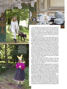 The story behind the renovation of Chateau de Gudanes by an amazing Australian family with a great vision. Vogue Australia Sept 2014