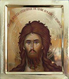Byzantine Icons, Byzantine Art, John The Baptist, Orthodox Icons, Religion, Blessed, Saint John, Face, Fictional Characters