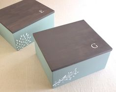 Personalized+wooden+box:+jewelry+box,+memory+box,+keepsake+box