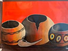 Original Artwork, Original Paintings, African Artwork, Unique Wall Decor, Large Painting, Traditional Art, Florida Usa, Amazing Art, African Style