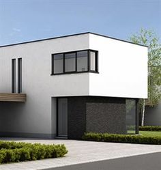Moderne huizen op pinterest moderne huizen ontwerpen for Moderne strakke huizen