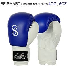 Kids Boxing Gloves Junior Mitts 4oz, 6oz Punch Bag Childr...…