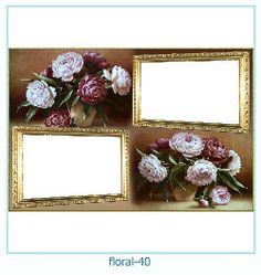 Floral Collages Frames 40