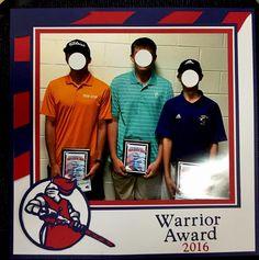 WARRIOR+AWARD - Scrapbook.com