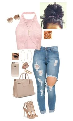 """1.17.16"" by zeeloveszebras on Polyvore featuring Lana, Giuseppe Zanotti, Yves Saint Laurent, Tom Ford, Incase, Chanel, River Island, women's clothing, women's fashion and women"