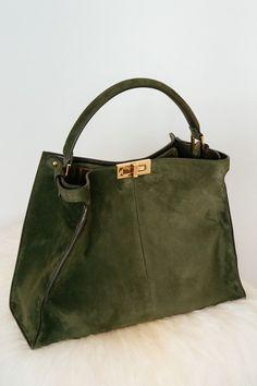 6abe709080fa Introducing the Fendi Peekaboo X-Lite Bag (The Purse Blog). Fendi  BagsLeather ...