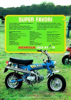 Honda Dax K3, Frankreich