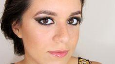 Bronce - tutorial de maquillaje de ojos ahumados / Bronze smokey eyes