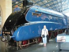 Entry from Tricia - ' Me with the Mallard!' - so very #blue! #janinawhitersmile