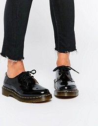 Dr Martens 1461 3-eye gibson flat shoes 1b93c15e5b