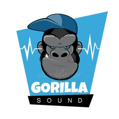 Gorilla Logo Ape Affe shockfactor.de dietmar höpfl – stock vector logo design
