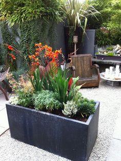 Patio plants in pots ideas patio flower pots outdoor flower planters patio planters and pots ideas . patio plants in pots Large Flower Pots, Flower Planters, Garden Planters, Planter Pots, Concrete Planters, Zinc Planters, Metal Planter Boxes, Trough Planters, Stone Planters