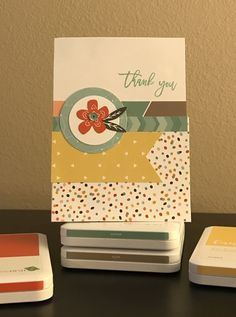 A little Thank You with Dreamin' Big papers from Close to My Heart