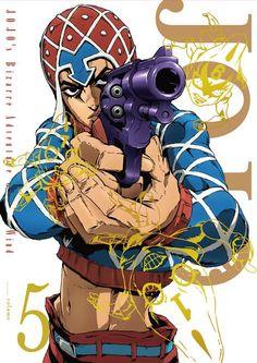 Pistolero Guido Mista: The Sex Pistols Jojo's Bizarre Adventure, Manga Anime, Anime Art, Jojo Anime, Jojo Parts, A Silent Voice, Film D'animation, Jojo Memes, Anime Characters