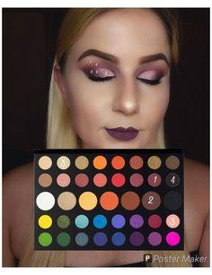Make Up Palette, Diy Makeup Palette, Contouring Step By Step, Tutorial Contouring, Eye Makeup Steps, Makeup Eye Looks, Creative Eye Makeup, Colorful Eye Makeup, Makeup Morphe