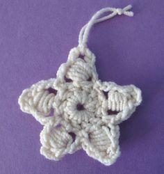 Crochet Five Point Star  - Tutorial
