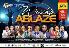 """Regrann from @twcmedia -  On the 22nd of April Okota will experience God like never before as an energetic Gospel music minister Unwana Ukeme @unwanaukeme and his crew The voltage will lead  host of other top Nigerian gospel ministers such as Tim Godfrey Eben Aity Inyang Ethel Odungide  Minister Sam and others  to invoke the miraculous power of God through  an electrifying session of praise and worship titled """"Worship Ablaze"""" . According to Uwana who also doubles as the convener the concert…"""