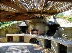 barbecue in travertino barbecue 16 garden house lazzerini