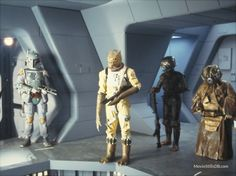 Star Wars: Episode V - The Empire Strikes Back - Publicity still of Alan Harris, Jeremy Bulloch, Chris Parsons & Cathy Munro. The image measures 1600 * 1200 pixels and was added on 19 September Star Wars Characters, Star Wars Episodes, Boba Fett Costume, 1980's Movies, Star Wars Bounty Hunter, Star Wars Models, Star Wars Pictures, Star Wars Merchandise, Films