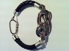 Silver climber bracelet // Pulsera escalador de plata