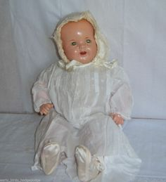 "VINTAGE R & B ARRANBEE COMPOSITION CLOTH 20"" DREAM BABY DOLL 1930""S"