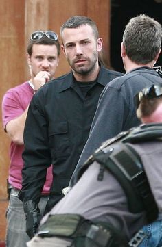 "Ben Affleck. | Generally no, but in ""The Town"" yes. Even the guy in pink is smitten."
