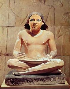 Ancient Egyptian Art, Painting, Sculpture - The Scribe
