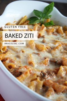 Simple recipe to make baked ziti using Gluten Free ingredients The post Gluten Free Baked Ziti appeared first on Tasty Recipes. Gluten Free Recipes For Dinner, Gluten Free Cooking, Healthy Recipes, Gluten Free Dinners Easy, Dinner Recipes, Gluten Free Christmas Recipes, Dinner Ideas, Celiac Recipes, Best Gluten Free Recipes