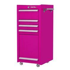 "The Original Pink Box 16"" Wide 4 Drawer Side Cabinet | Wayfair"