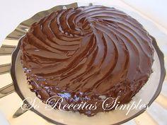Só Receitas Simples: Bolo de Chocolate Mud Cake