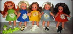 Lara 1, Lola, Laura, Lisa 2 e Lucia 2 (vestiti di vendita)
