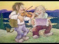 Troll till tusen - Rolf Lidbergs trolltavlor Fairies Mythology, Under Bridge, Baumgarten, Elves And Fairies, Goblin, Faeries, Adult Coloring, Watercolor Paintings, Fantasy Art