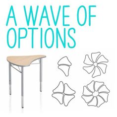 KI's Intellect Wave Classroom Desks include flexible design options and possibilities, which allow for the utmost in classroom variety. Learning Spaces, Learning Environments, Classroom Desk, Middle School History, Classroom Training, Great Schools, Classroom Environment, Room Setup, School Design