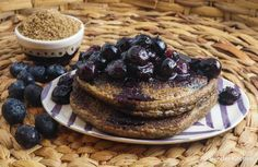 Flaxseed Meal Pancakes (Low Carb) - 5 sp / 3 pancakes (1/4 of recipe)