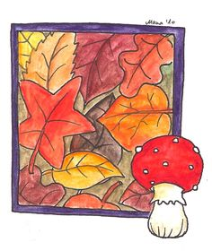 Mana Poblete - otoño amanita