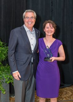 Andrea Cramblit and Dave North, President & CEO of Sedgwick