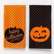 ''Happy Halloween'' 2-pk. Kitchen Towels; Sale $6.30
