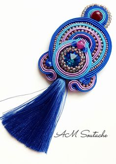 Soutache Necklace, Belly Button Rings, Jewelry, Revenge, Jewels, Schmuck, Jewerly, Belly Rings, Jewelery