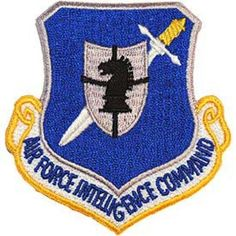 U.S. Air Force Intelligence Command Shield Patch