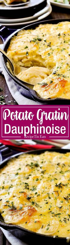 Julia Child's Potato Dauphinoise - The ultimate potato bake! This is the legendary Julia Child's potato gratin - layers of potato…